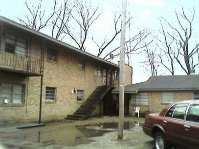 My first address Lane Avenue in Memphis